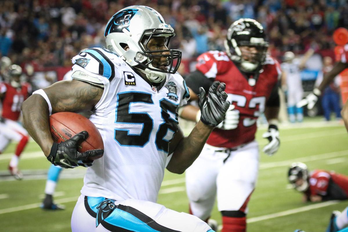 Thomas Davis Carolina Panthers